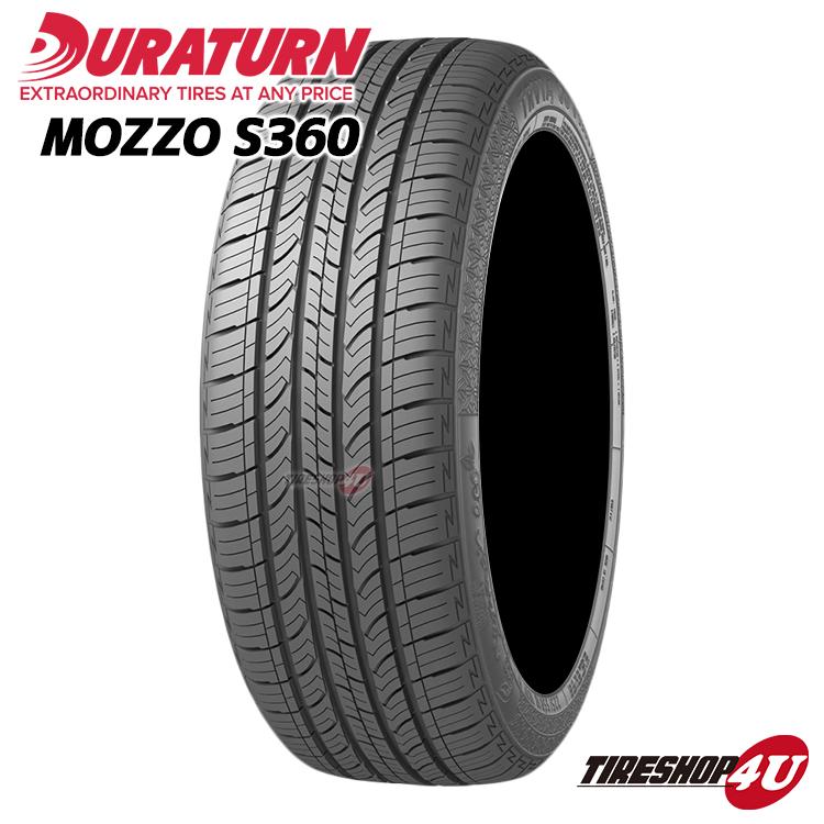 MOZZO S360 225 55R18 東京オートサロン出展ブランド 2021年製 送料無料 NEW ARRIVAL DURATURN ラジアルタイヤ ご注文で当日配送 55-18 取付対象 デュラターン サマータイヤ モッツォ 単品 新品1本価格