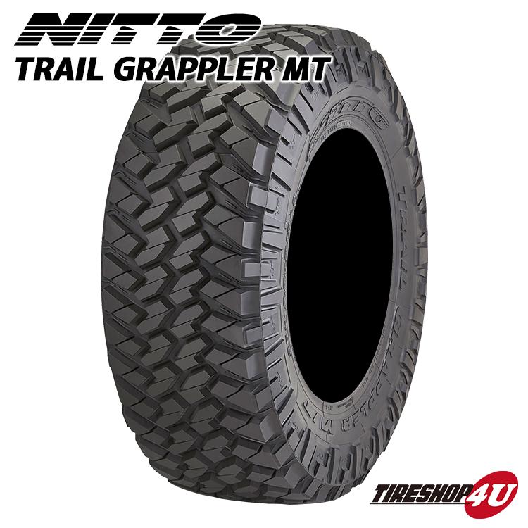 送料無料 新品 マッドタイヤ NITTO TRAIL GRAPPLER 265/70R17 サマータイヤ トレイルグラップラー ラジアルタイヤ単品 タイヤショップフォーユー オフロードタイヤ 265/70-17