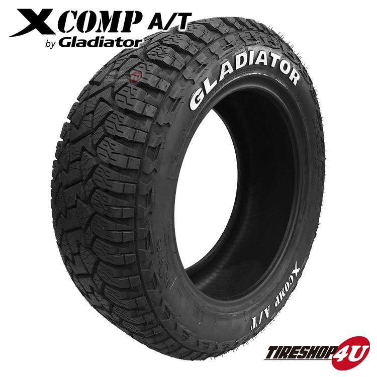 送料無料 GLADIATOR X COMP A/T 285/55R20 XCOMP MT グラディエーター エックスコンプ マッドタイヤ ラジアルタイヤ サマータイヤ 単品 1本価格 285/55-20