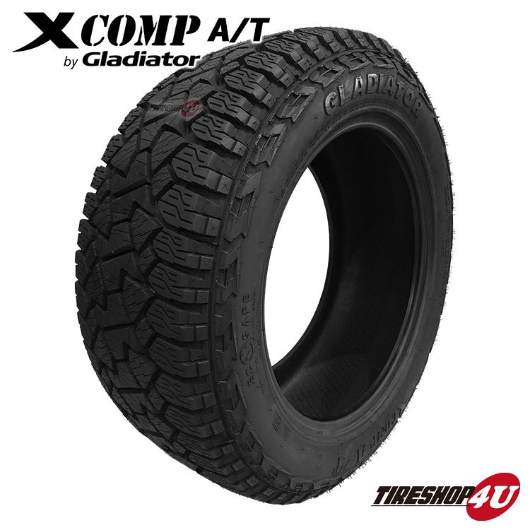 送料無料 新品 タイヤ GLADIATOR X COMP A/T 33×12.50R20 単品 サマータイヤ ラジアルタイヤ オールシーズンタイヤ グラディエーター エックスコンプ X-COMP 33×12.5-20