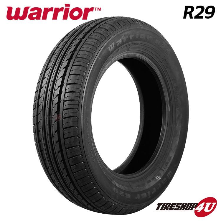 Warrior R29 165 65R14 在庫一掃売り切りセール 送料無料 2020年製 新品 安心と信頼 4本セット 79T 14インチ サマータイヤ ウォーリア 4本価格 65-14 ラジアルタイヤ 取付対象 ウォーリアー