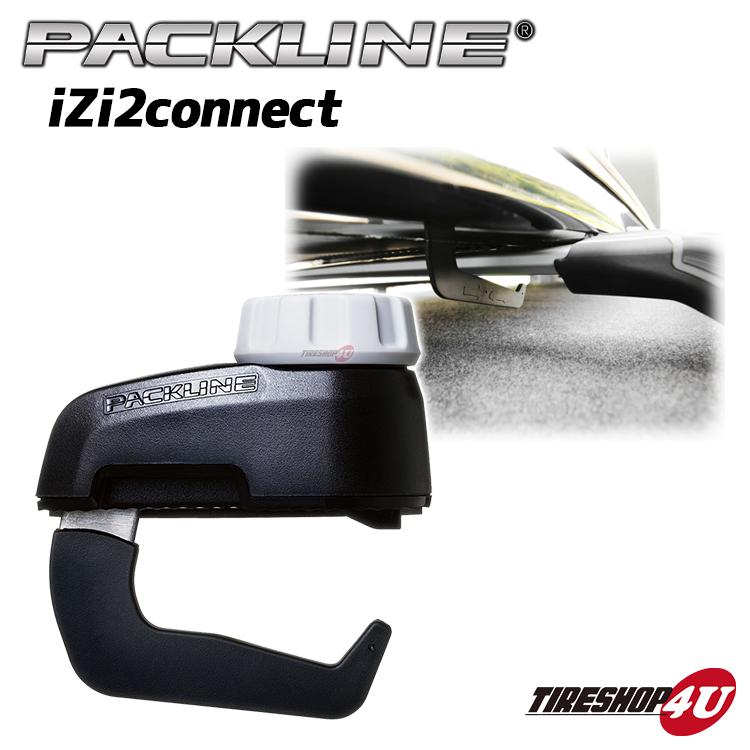 PACKLINE パックライン ルーフボックス用 アクセサリー iZi2connect ノルウェーブランド New Wide rapid clamp set for box シンプル簡単 収納 ホルダー アウトドア キャリア取付け 正規品 代引き不可 送料無料