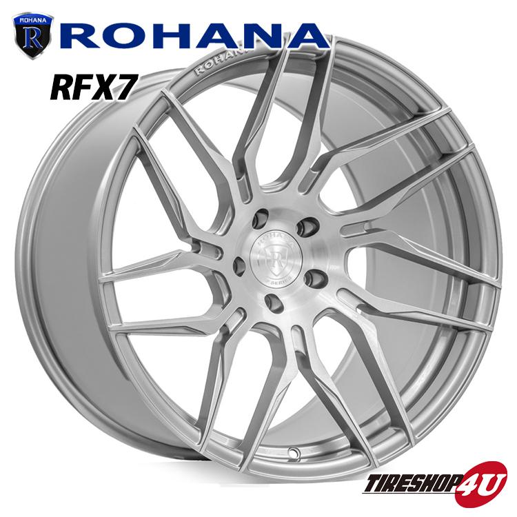 <title>ROHANA正規取扱い ROHANA RFX7 20×9 5 120 +35 ブラッシュドチタニウム ロハナ 新品アルミホイール1本価格 お値打ち価格で</title>