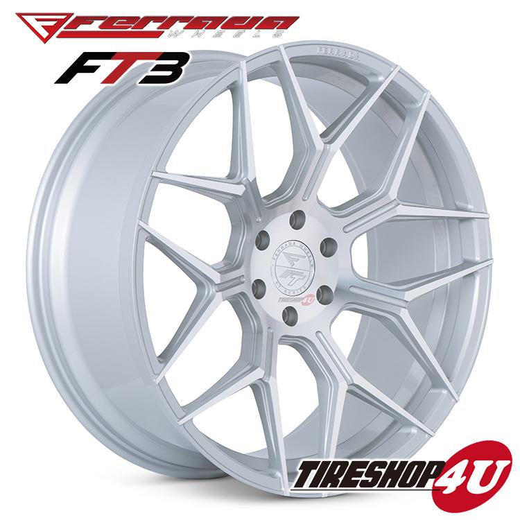 22インチ ダッジ ラム1500FERRADA WHEELS FT3 22×9.5J ET20 CB:77.8 マシンシルバー当社指定輸入オフロードタイヤ 33x12.50R22新品タイヤホイールセット4本価格 JWL規格適合品