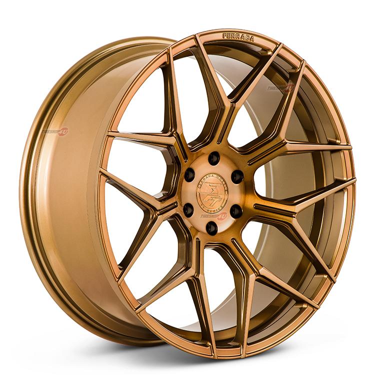 24インチ シボレー アバランチ/シルバラードFERRADA WHEELS FT3 24×10.0J ET30 CB:78.1 ブラッシュドコブラ当社指定輸入オフロードタイヤ 33x12.50R24新品タイヤホイールセット4本価格 JWL規格適合品