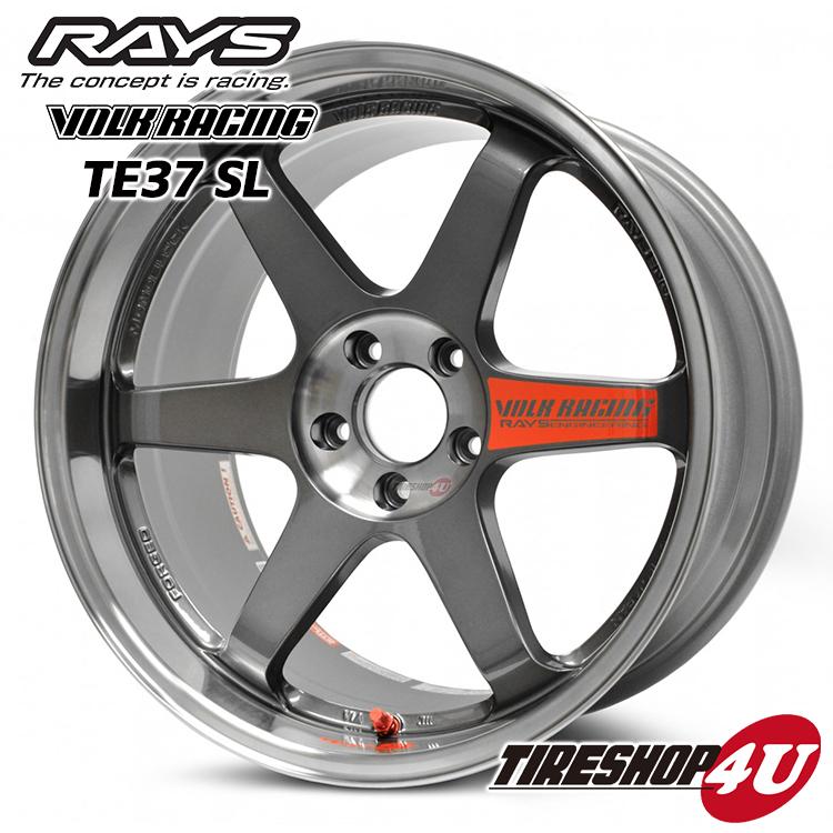17インチRAYS VOLK Racing TE37SL 17×7.5J 5/114.3 +40PG(プレスドグラファイト) レイズ ボルクレーシング TE37SL 鍛造 新品アルミホイール1本価格