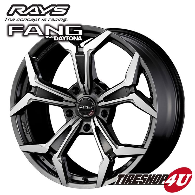 ファッションなデザイン RAYS TEAM DAYTONA FANG 22×10.0J 5/150 +48 FAC(ダークシャイニングシルバー/コンポジットマシニング) レイズ デイトナ ファング 鋳造 新品アルミホイール1本価格, カスガムラ c2d06e55
