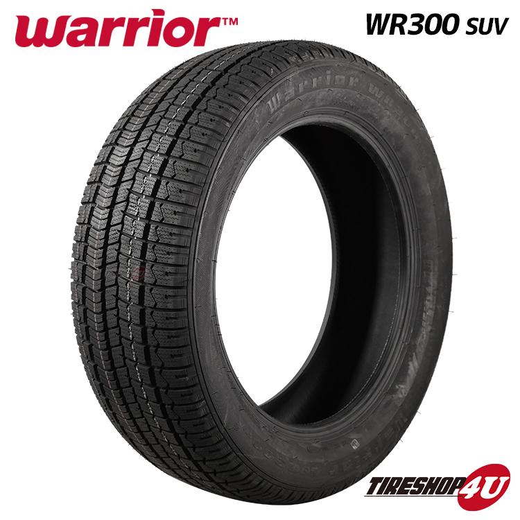 2019年製 Warrior WR300 285 60R18 116T 送料無料 60-18 冬用タイヤ スノータイヤ メーカー再生品 ウォーリアー 日時指定 新品 WR300SUV