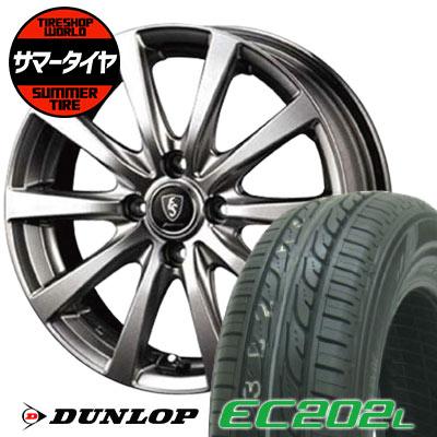 185/65R15 88S DUNLOP ダンロップ EC202L EC202L Euro Speed G10 ユーロスピード G10 サマータイヤホイール4本セット