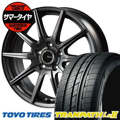 215/65R16 98V TOYO TIRES トーヨー タイヤ TRANPATH Lu2 トランパス Lu2 V-EMOTION GS10 Vエモーション GS10 サマータイヤホイール4本セット