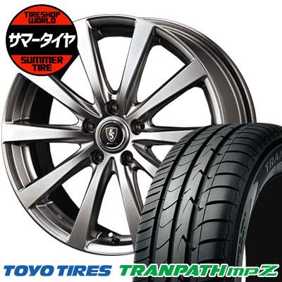 195/60R16 88H TOYO TIRES トーヨータイヤ TRANPATH mpZ トランパス mpZ Euro Speed G10 ユーロスピード G10 サマータイヤホイール4本セット