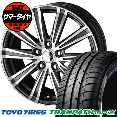 国産品 225/50R17 98V TOYO TIRES トーヨータイヤ TRANPATH mpZ トランパス mpZ SMACK SPARROW スマック スパロー サマータイヤホイール4本セット, ラロックショップ d7c4066c