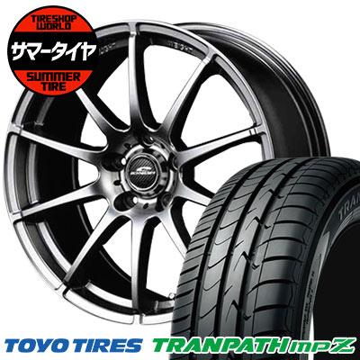 225/50R18 95V TOYO TIRES トーヨータイヤ TRANPATH mpZ トランパス mpZ SCHNEDER StaG シュナイダー スタッグ サマータイヤホイール4本セット