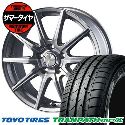 205/70R15 96H TOYO TIRES トーヨー タイヤ TRANPATH mpZ トランパス mpZ V-EMOTION SR10 Vエモーション SR10 サマータイヤホイール4本セット
