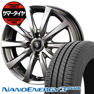 185/60R15 84H TOYO TIRES トーヨータイヤ NANOENERGY3 PLUS ナノエナジー3 プラス Euro Speed G10 ユーロスピード G10 サマータイヤホイール4本セット