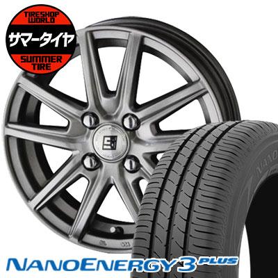 175/60R15 81H TOYO TIRES トーヨー タイヤ NANOENERGY3 PLUS ナノエナジー3 プラス SEIN SS ザイン エスエス サマータイヤホイール4本セット