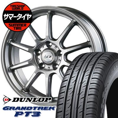 225/60R18 100H DUNLOP ダンロップ GRANDTREK PT3 グラントレック PT3 LCZ010 LCZ010 サマータイヤホイール4本セット