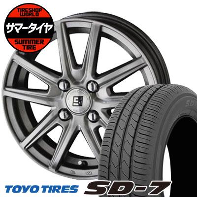 185/70R14 88S TOYO TIRES トーヨー タイヤ SD-7 エスディーセブン SEIN SS ザイン エスエス サマータイヤホイール4本セット