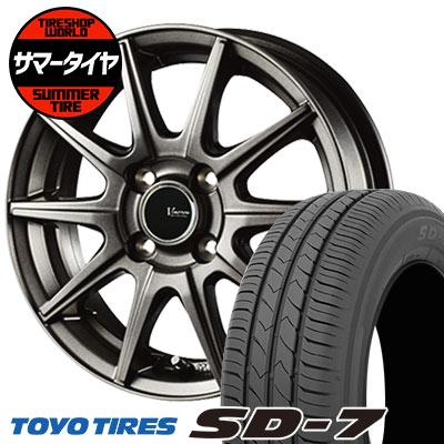 175/65R14 82S TOYO TIRES トーヨー タイヤ SD-7 エスディーセブン V-EMOTION GS10 Vエモーション GS10 サマータイヤホイール4本セット