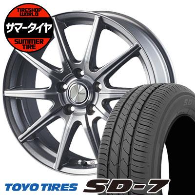 205/65R15 94H TOYO TIRES トーヨー タイヤ SD-7 エスディーセブン V-EMOTION SR10 Vエモーション SR10 サマータイヤホイール4本セット