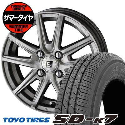 165/55R15 75V TOYO TIRES トーヨー タイヤ SD-K7 エスディーケ-セブン SEIN SS ザイン エスエス サマータイヤホイール4本セット