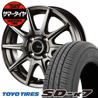 155/70R13 75S TOYO TIRES トーヨー タイヤ SD-K7 エスディーケ-セブン V-EMOTION GS10 Vエモーション GS10 サマータイヤホイール4本セット