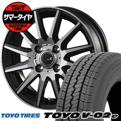 145/80R12 86/84N TOYO TIRES トーヨータイヤ V02e ブイゼロツーイー spec K スペックK サマータイヤホイール4本セット