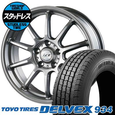 195/70R15 106/104 TOYO TIRES トーヨータイヤ DELVEX 934 デルベックス 934 LCZ010 LCZ010 スタッドレスタイヤホイール4本セット