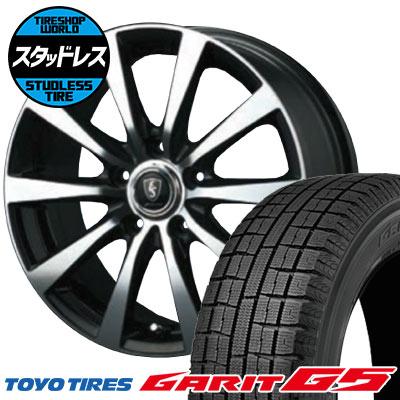 205/60R16 92Q TOYO TIRES トーヨータイヤ GARIT G5 ガリット G5 EuroSpeed BL10 ユーロスピード BL10 スタッドレスタイヤホイール4本セット