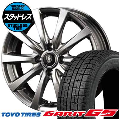 145/80R13 75Q TOYO TIRES トーヨータイヤ GARIT G5 ガリット G5 Euro Speed G10 ユーロスピード G10 スタッドレスタイヤホイール4本セット