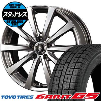 205/60R16 92Q TOYO TIRES トーヨータイヤ GARIT G5 ガリット G5 Euro Speed G10 ユーロスピード G10 スタッドレスタイヤホイール4本セット