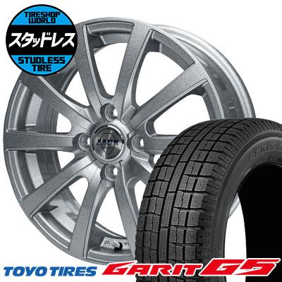 145/80R13 75Q TOYO TIRES トーヨータイヤ GARIT G5 ガリット G5 ZACK JP-110 ザック JP110 スタッドレスタイヤホイール4本セット
