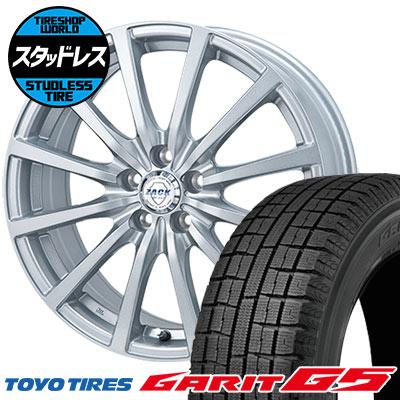 205/60R16 92Q TOYO TIRES トーヨータイヤ GARIT G5 ガリット G5 ZACK JP-112 ザック JP112 スタッドレスタイヤホイール4本セット