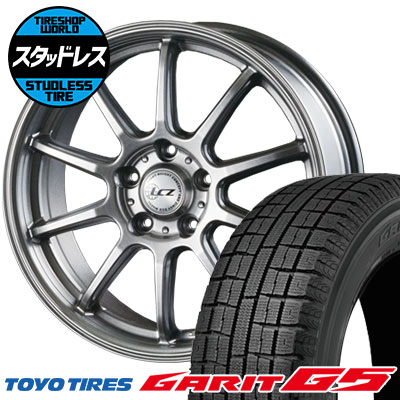 205/60R16 92Q TOYO TIRES トーヨータイヤ GARIT G5 ガリット G5 LCZ010 LCZ010 スタッドレスタイヤホイール4本セット