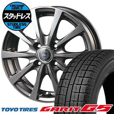 145/80R13 75Q TOYO TIRES トーヨータイヤ GARIT G5 ガリット G5 CLAIRE RG10 クレール RG10 スタッドレスタイヤホイール4本セット