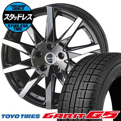 205/60R16 92Q TOYO TIRES トーヨータイヤ GARIT G5 ガリット G5 SMACK SFIDA スマック スフィーダ スタッドレスタイヤホイール4本セット