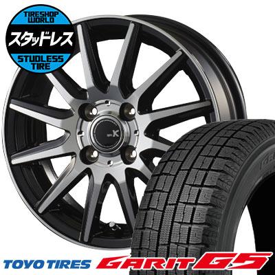 155/65R14 75Q TOYO TIRES トーヨータイヤ GARIT G5 ガリット G5 spec K スペックK スタッドレスタイヤホイール4本セット