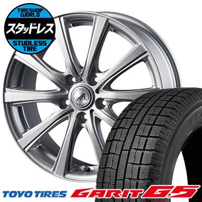 205/60R16 92Q TOYO TIRES トーヨータイヤ GARIT G5 ガリット G5 AZ sports YL-10 AZスポーツ YL-10 スタッドレスタイヤホイール4本セット
