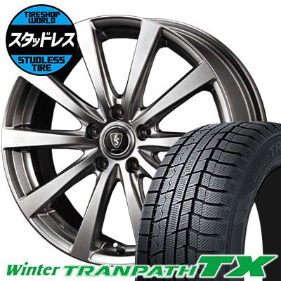 215/50R17 91Q TOYO TIRES トーヨー タイヤ Winter TRANPATH TX ウィンタートランパス TX Euro Speed G10 ユーロスピード G10 スタッドレスタイヤホイール4本セット