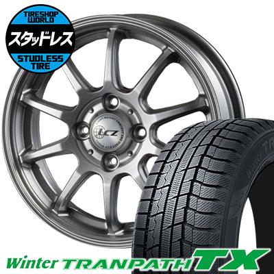 185/65R15 88Q TOYO TIRES トーヨー タイヤ Winter TRANPATH TX ウィンタートランパス TX LCZ010 LCZ010 スタッドレスタイヤホイール4本セット