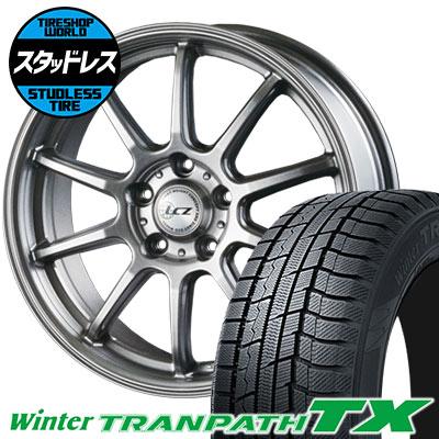 205/70R15 96Q TOYO TIRES トーヨー タイヤ Winter TRANPATH TX ウィンタートランパス TX LCZ010 LCZ010 スタッドレスタイヤホイール4本セット