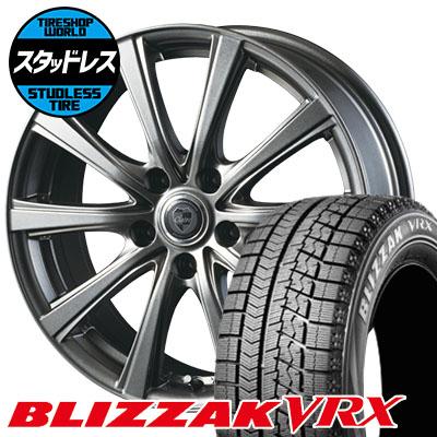 205/65R16 95Q BRIDGESTONE ブリヂストン BLIZZAK VRX ブリザック VRX CLAIRE DG10 クレール DG10 スタッドレスタイヤホイール4本セット