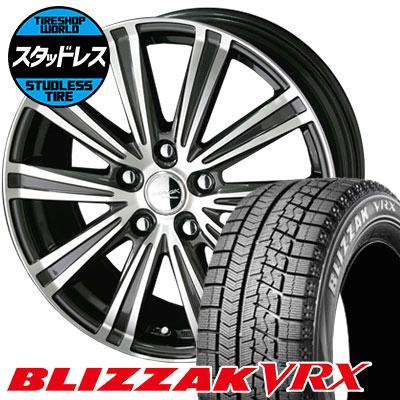 205/65R15 94Q BRIDGESTONE ブリヂストン BLIZZAK VRX ブリザック VRX SMACK SPARROW スマック スパロー スタッドレスタイヤホイール4本セット