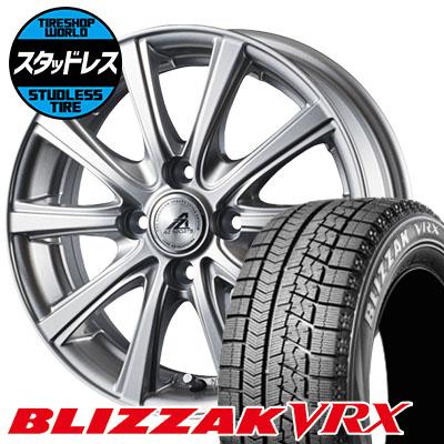 175/65R15 84Q BRIDGESTONE ブリヂストン BLIZZAK VRX ブリザック VRX AZ sports YL-10 AZスポーツ YL-10 スタッドレスタイヤホイール4本セット