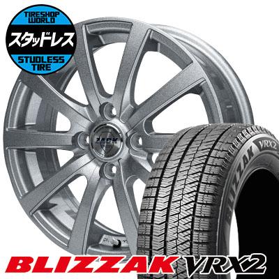 155/70R13 75Q BRIDGESTONE ブリヂストン BLIZZAK VRX2 ブリザック VRX2 ZACK JP-110 ザック JP110 スタッドレスタイヤホイール4本セット