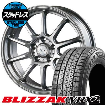 205/65R15 94Q BRIDGESTONE ブリヂストン BLIZZAK VRX2 ブリザック VRX2 LCZ010 LCZ010 スタッドレスタイヤホイール4本セット
