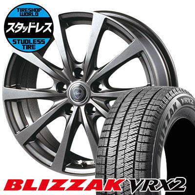215/60R17 96Q BRIDGESTONE ブリヂストン BLIZZAK VRX2 ブリザック VRX2 CLAIRE RG10 クレール RG10 スタッドレスタイヤホイール4本セット