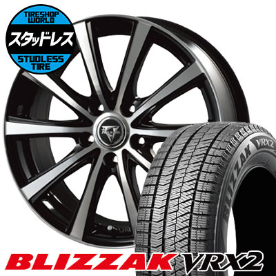 225/60R16 98Q BRIDGESTONE ブリヂストン BLIZZAK VRX2 ブリザック VRX2 Razee XV レイジー XV スタッドレスタイヤホイール4本セット