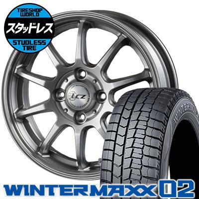 155/65R13 73Q DUNLOP ダンロップ WINTER MAXX 02 WM02 ウインターマックス 02 LCZ010 LCZ010 スタッドレスタイヤホイール4本セット