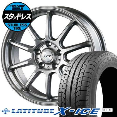 215/70R16 100T MICHELIN ミシュラン LATITUDE X-ICE XI2 ラティチュード エックスアイス XI2 LCZ010 LCZ010 スタッドレスタイヤホイール4本セット